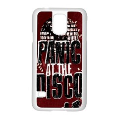 Panic At The Disco Poster Samsung Galaxy S5 Case (white) by Onesevenart