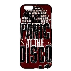 Panic At The Disco Poster Apple Iphone 6 Plus/6s Plus Hardshell Case by Onesevenart