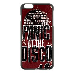 Panic At The Disco Poster Apple Iphone 6 Plus/6s Plus Black Enamel Case by Onesevenart