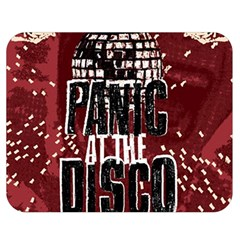 Panic At The Disco Poster Double Sided Flano Blanket (medium)  by Onesevenart