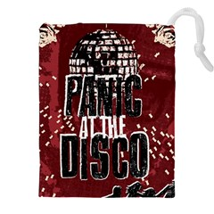 Panic At The Disco Poster Drawstring Pouches (xxl) by Onesevenart