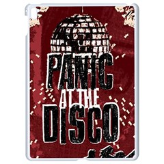 Panic At The Disco Poster Apple Ipad Pro 9 7   White Seamless Case by Onesevenart