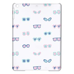 Cute Sexy Funny Sunglasses Kids Pink Blue Ipad Air Hardshell Cases by Mariart