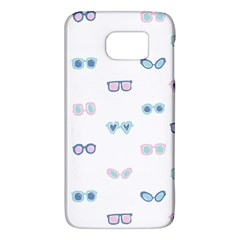 Cute Sexy Funny Sunglasses Kids Pink Blue Galaxy S6