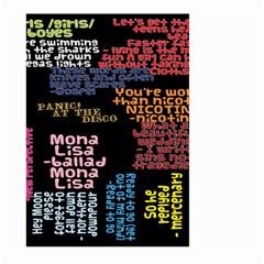 Panic At The Disco Northern Downpour Lyrics Metrolyrics Large Garden Flag (two Sides) by Onesevenart