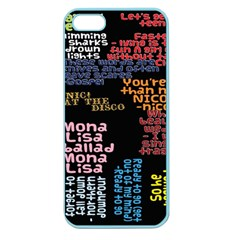 Panic At The Disco Northern Downpour Lyrics Metrolyrics Apple Seamless Iphone 5 Case (color) by Onesevenart