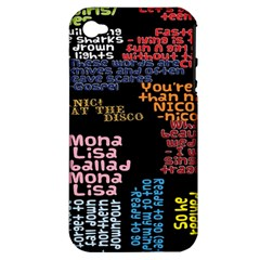 Panic At The Disco Northern Downpour Lyrics Metrolyrics Apple Iphone 4/4s Hardshell Case (pc+silicone) by Onesevenart