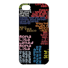 Panic At The Disco Northern Downpour Lyrics Metrolyrics Apple Iphone 5c Hardshell Case by Onesevenart