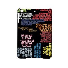 Panic At The Disco Northern Downpour Lyrics Metrolyrics Ipad Mini 2 Hardshell Cases by Onesevenart