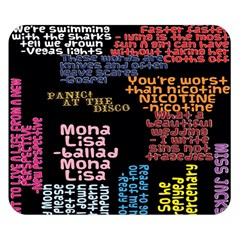 Panic At The Disco Northern Downpour Lyrics Metrolyrics Double Sided Flano Blanket (small)  by Onesevenart