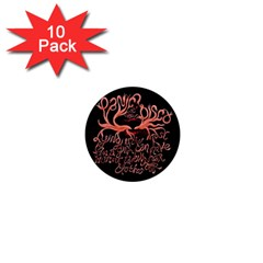 Panic At The Disco   Lying Is The Most Fun A Girl Have Without Taking Her Clothes 1  Mini Magnet (10 Pack)  by Onesevenart