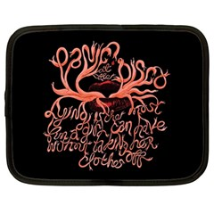 Panic At The Disco   Lying Is The Most Fun A Girl Have Without Taking Her Clothes Netbook Case (xl)  by Onesevenart