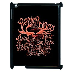 Panic At The Disco   Lying Is The Most Fun A Girl Have Without Taking Her Clothes Apple Ipad 2 Case (black) by Onesevenart