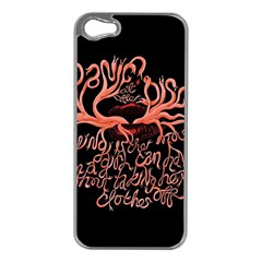Panic At The Disco   Lying Is The Most Fun A Girl Have Without Taking Her Clothes Apple Iphone 5 Case (silver) by Onesevenart