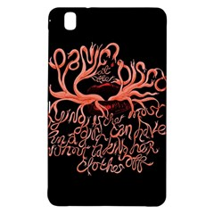 Panic At The Disco   Lying Is The Most Fun A Girl Have Without Taking Her Clothes Samsung Galaxy Tab Pro 8 4 Hardshell Case by Onesevenart