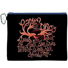 Panic At The Disco   Lying Is The Most Fun A Girl Have Without Taking Her Clothes Canvas Cosmetic Bag (xxxl) by Onesevenart