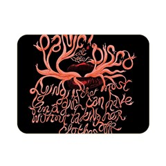 Panic At The Disco   Lying Is The Most Fun A Girl Have Without Taking Her Clothes Double Sided Flano Blanket (mini)  by Onesevenart