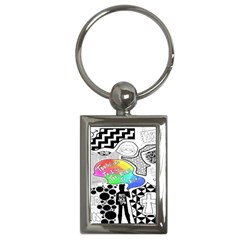 Panic ! At The Disco Key Chains (rectangle)  by Onesevenart