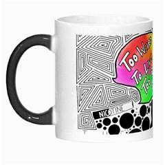 Panic ! At The Disco Morph Mugs by Onesevenart
