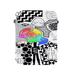 Panic ! At The Disco Apple Ipad 2/3/4 Protective Soft Cases by Onesevenart