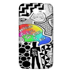 Panic ! At The Disco Samsung Galaxy Mega 5 8 I9152 Hardshell Case  by Onesevenart