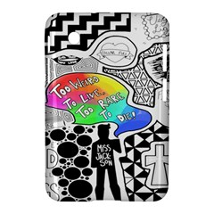 Panic ! At The Disco Samsung Galaxy Tab 2 (7 ) P3100 Hardshell Case  by Onesevenart