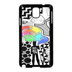 Panic ! At The Disco Samsung Galaxy Note 3 Neo Hardshell Case (black) by Onesevenart