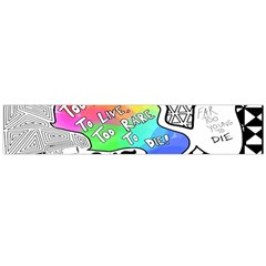 Panic ! At The Disco Flano Scarf (large) by Onesevenart