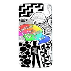 Panic ! At The Disco Samsung Galaxy Mega I9200 Hardshell Back Case by Onesevenart