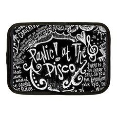 Panic ! At The Disco Lyric Quotes Netbook Case (medium)  by Onesevenart