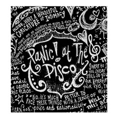 Panic ! At The Disco Lyric Quotes Shower Curtain 66  X 72  (large)  by Onesevenart