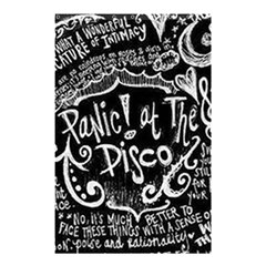 Panic ! At The Disco Lyric Quotes Shower Curtain 48  X 72  (small)  by Onesevenart