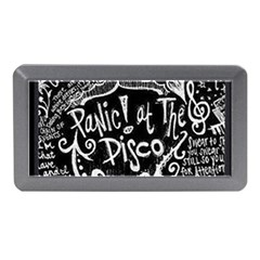 Panic ! At The Disco Lyric Quotes Memory Card Reader (mini) by Onesevenart