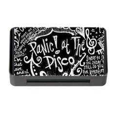Panic ! At The Disco Lyric Quotes Memory Card Reader With Cf by Onesevenart