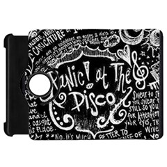 Panic ! At The Disco Lyric Quotes Kindle Fire Hd 7  by Onesevenart