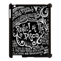 Panic ! At The Disco Lyric Quotes Apple Ipad 3/4 Case (black) by Onesevenart