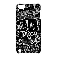 Panic ! At The Disco Lyric Quotes Apple Ipod Touch 5 Hardshell Case With Stand by Onesevenart