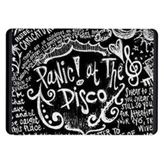 Panic ! At The Disco Lyric Quotes Samsung Galaxy Tab 8 9  P7300 Flip Case by Onesevenart