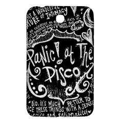 Panic ! At The Disco Lyric Quotes Samsung Galaxy Tab 3 (7 ) P3200 Hardshell Case  by Onesevenart
