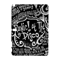 Panic ! At The Disco Lyric Quotes Galaxy Note 1 by Onesevenart