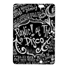 Panic ! At The Disco Lyric Quotes Kindle Fire Hdx 8 9  Hardshell Case by Onesevenart