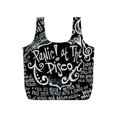 Panic ! At The Disco Lyric Quotes Full Print Recycle Bags (s)  by Onesevenart