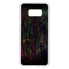 Brain Cell Dendrites Samsung Galaxy S8 Plus White Seamless Case by Mariart