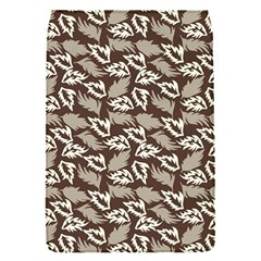 Dried Leaves Grey White Camuflage Summer Flap Covers (s)  by Mariart