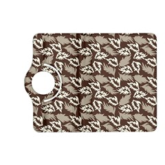 Dried Leaves Grey White Camuflage Summer Kindle Fire Hd (2013) Flip 360 Case by Mariart