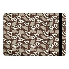Dried Leaves Grey White Camuflage Summer Samsung Galaxy Tab Pro 10 1  Flip Case by Mariart