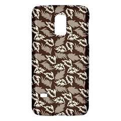 Dried Leaves Grey White Camuflage Summer Galaxy S5 Mini by Mariart