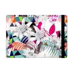 Flower Graphic Pattern Floral Apple Ipad Mini Flip Case by Mariart
