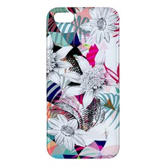 Flower Graphic Pattern Floral Apple Iphone 5 Premium Hardshell Case by Mariart