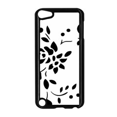 Flower Rose Black Sexy Apple Ipod Touch 5 Case (black) by Mariart